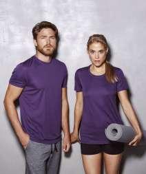 Active Sports-T Maglia Donna G/C M/C 100% Pol.140g