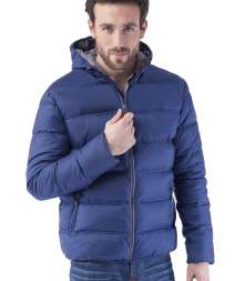 Contrast Padded Jacket 100% Poliestere 300T