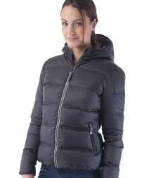Contrast Padded Women Jacket 100% Poliestere 300T
