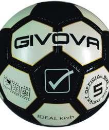 Pallone Ideal KWB nero bianco