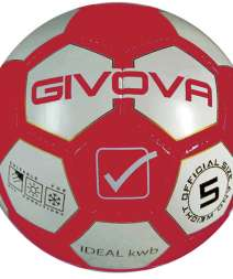 Pallone Ideal KWB rosso bianco