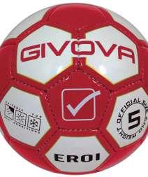 Pallone EROI rosso bianco