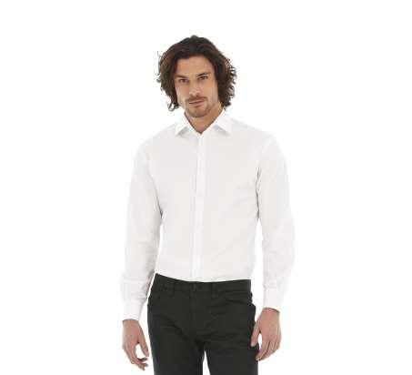 Black Tie Men Camicia Stretch M/L 97/3% Cot/Ela135