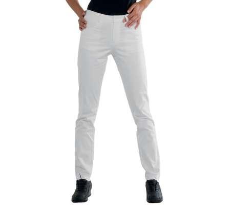 Pantalone Donna Margarita - Isacco - Bianco