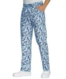 Pantalone Con Elastico - Isacco - Fish