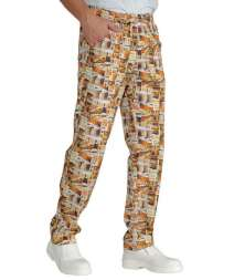 Pantalone Con Elastico - Isacco - Beer