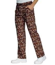Pantalone Con Elastico - Isacco - Chocolate