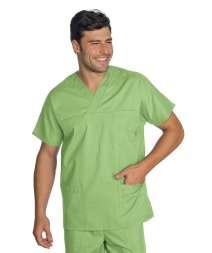 Casacca Collo A V - Isacco - Verde Mela