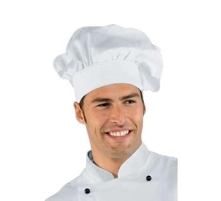 Cappello Cuoco - Isacco - Bianco