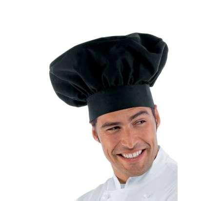 Cappello Cuoco - Isacco - Nero