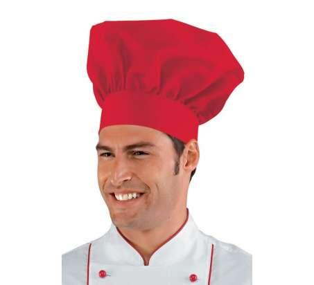 Cappello Cuoco - Isacco - Rosso