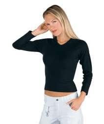 Maglietta Stretch - Isacco - Nero