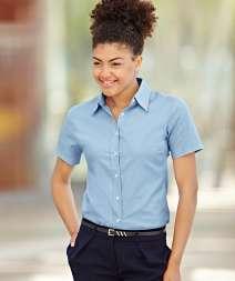 Camicia Oxford Donna M/C 70/30% Cot/Poly 135 gr/m2