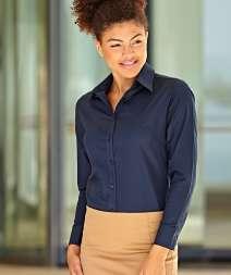 Camicia Oxford Donna M/L 70/30% Cot/Poly 135 gr/m2