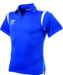 POLY Polo con ricamo Royal