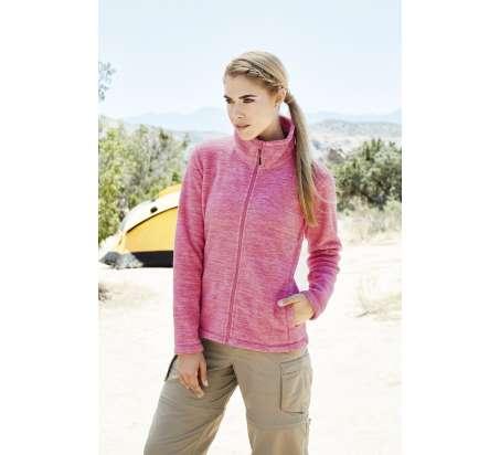Active Donna Melange Pile Jacket 100% Poly 310 gr