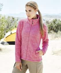 Active Donna Melange Pile Jacket 100% Poly 310 gr