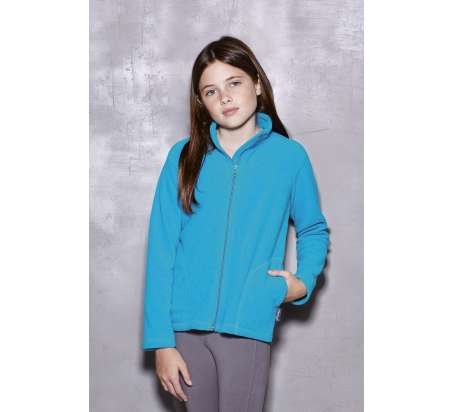 Active Bambino Pile Jacket 100% Poly 220 gr/m2