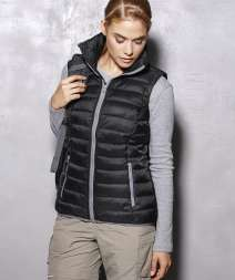 Active Donna Padded Gilet 100% Nylon