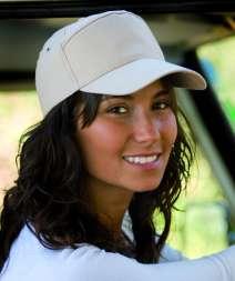 Golf Cap 7 Pannelli 100% Cotone