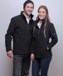 Atlantic Men Jacket Soft Shell 95/5% Pol/Ela 340gr