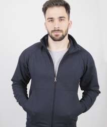 Attiva Jacket Felpato F/Terry 70/30% Cot/Pol 240gr