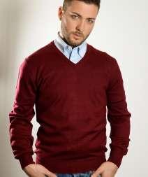 Stile Pullover Lana C/V 50/50% Lan/Acr 380 gr/m2
